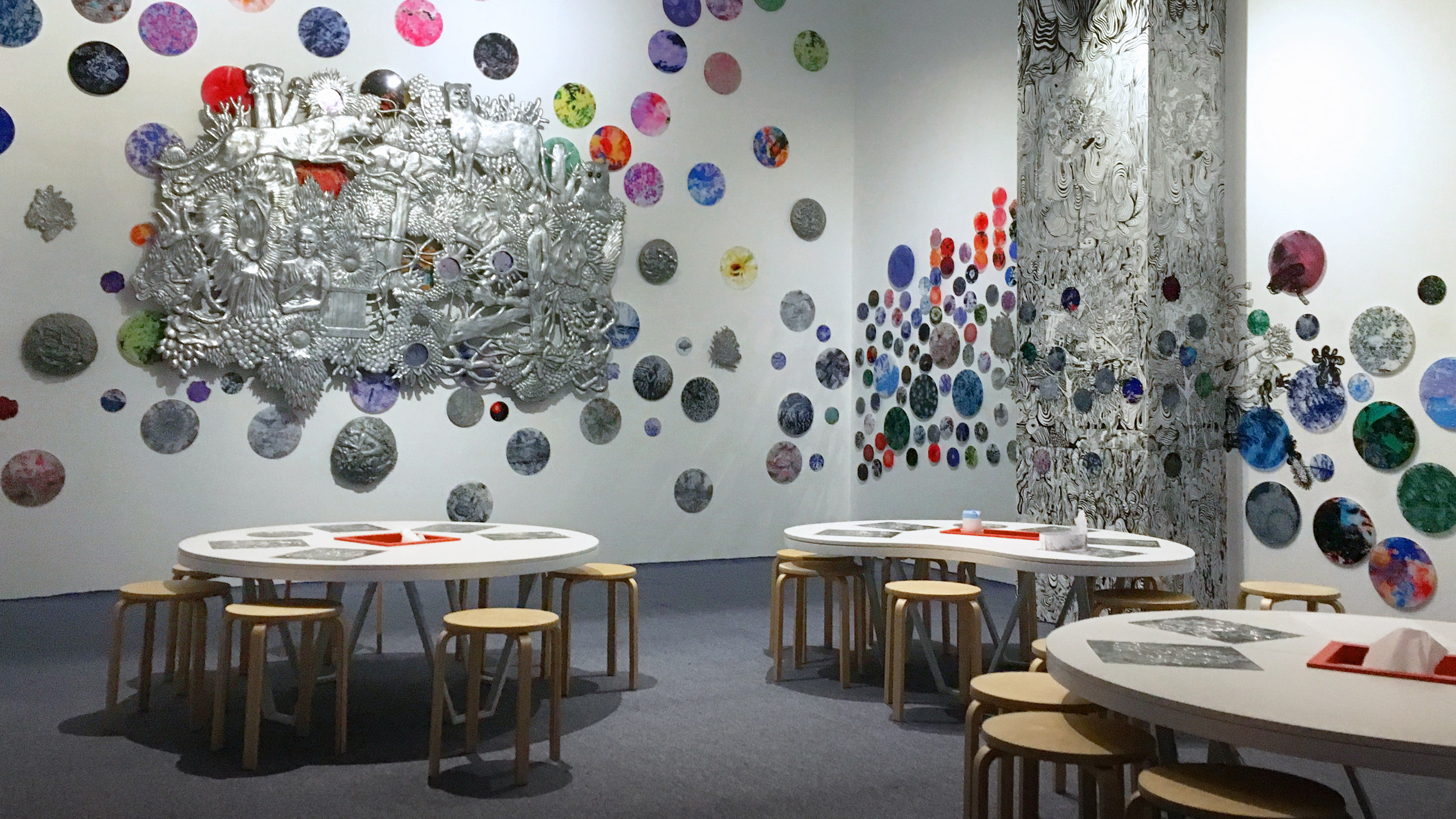 The children's art space at Museum MACAN