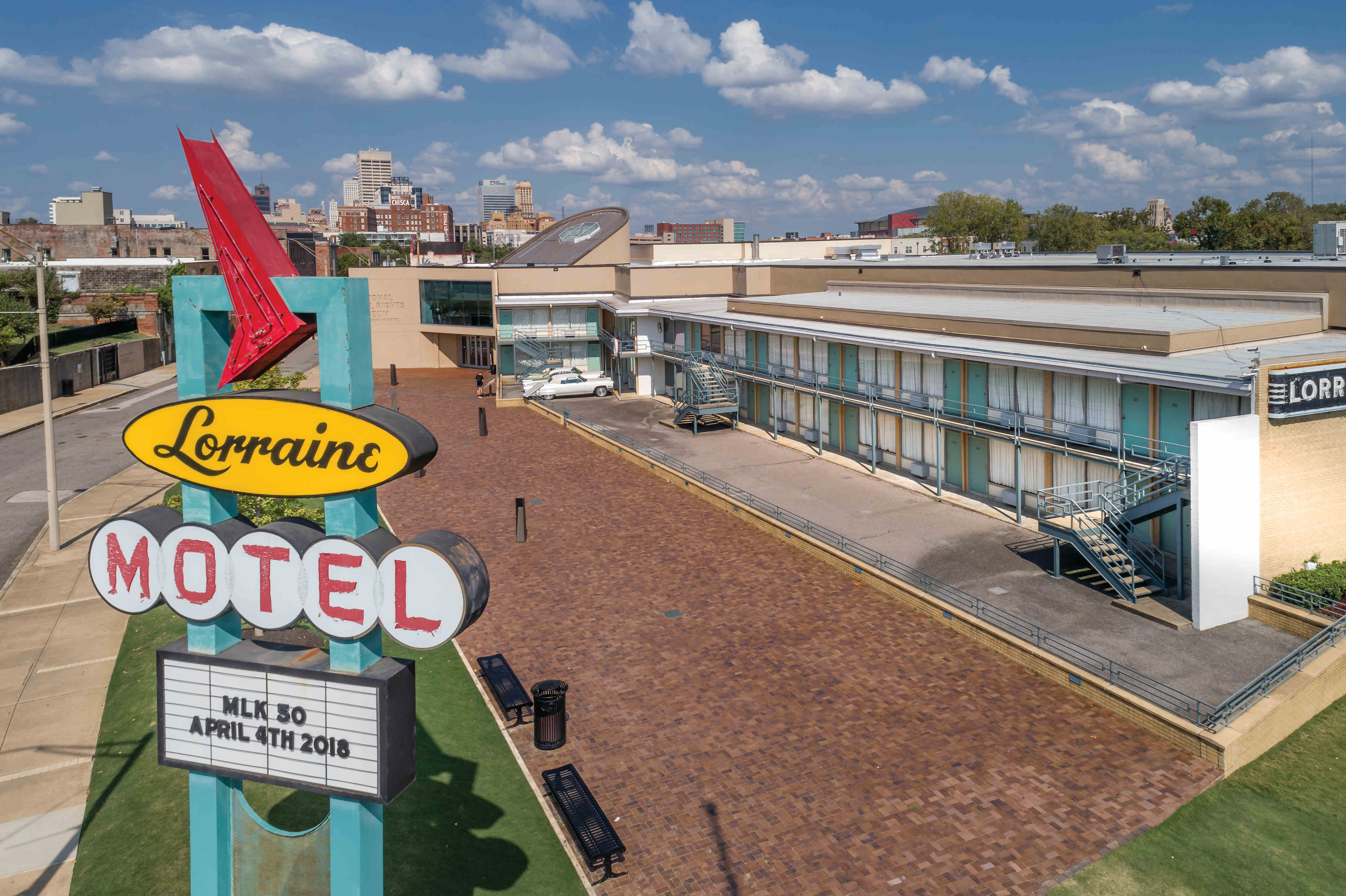 The National Civil Rights Museum, Memphis, Tennessee
