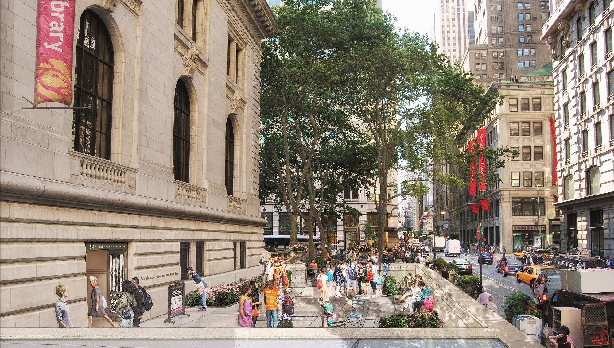 The renovations will cost $317 million and are part of ongoing investments in the New York Public Library.