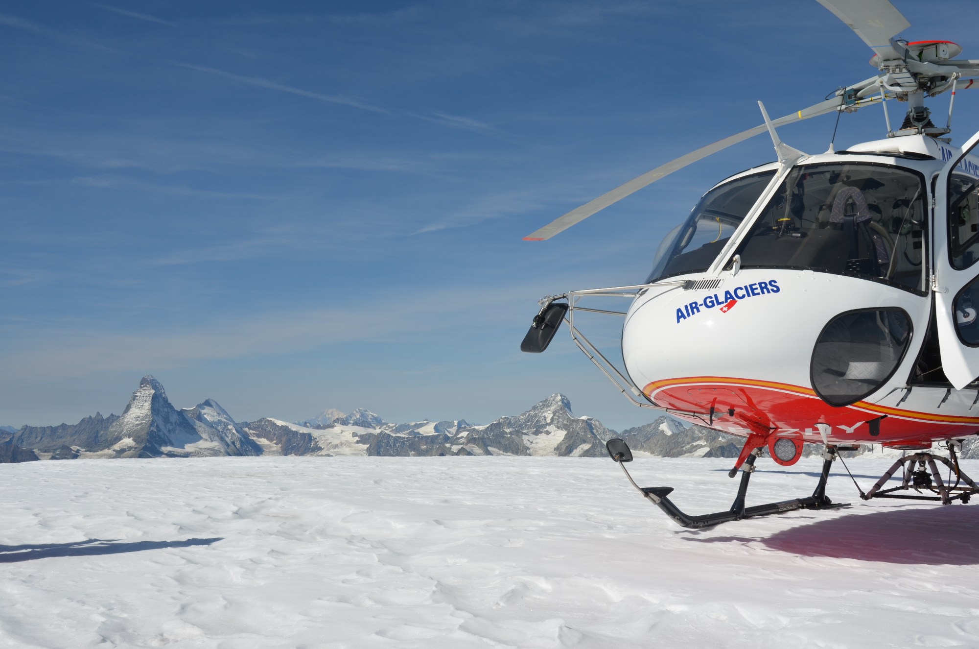 Guests at Gstaad Palace can now take a five-hour excursion The Diableret glacier.