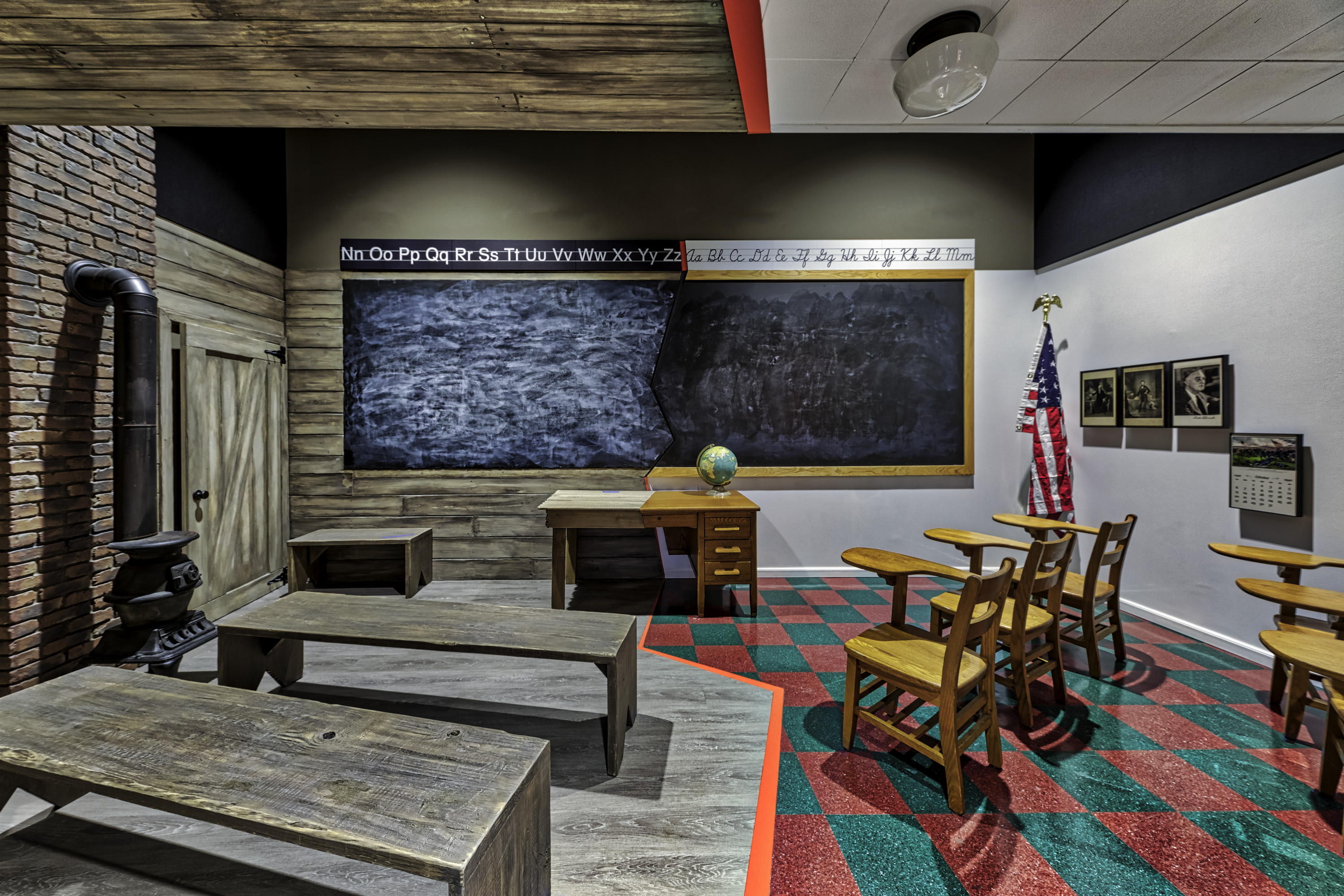 """The exhibition entitled A Closed Society, """"Separate is NOT Always Equal"""" at the Mississippi Civil Rights Museum."""
