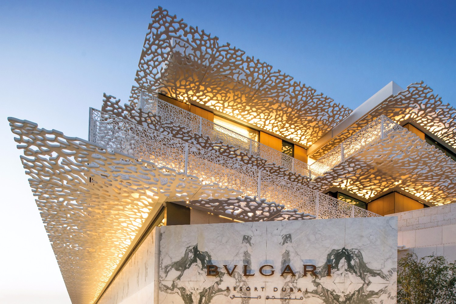 The luxurious bulgari resort in dubai opens as the city 39 s for Most expensive place to stay in dubai