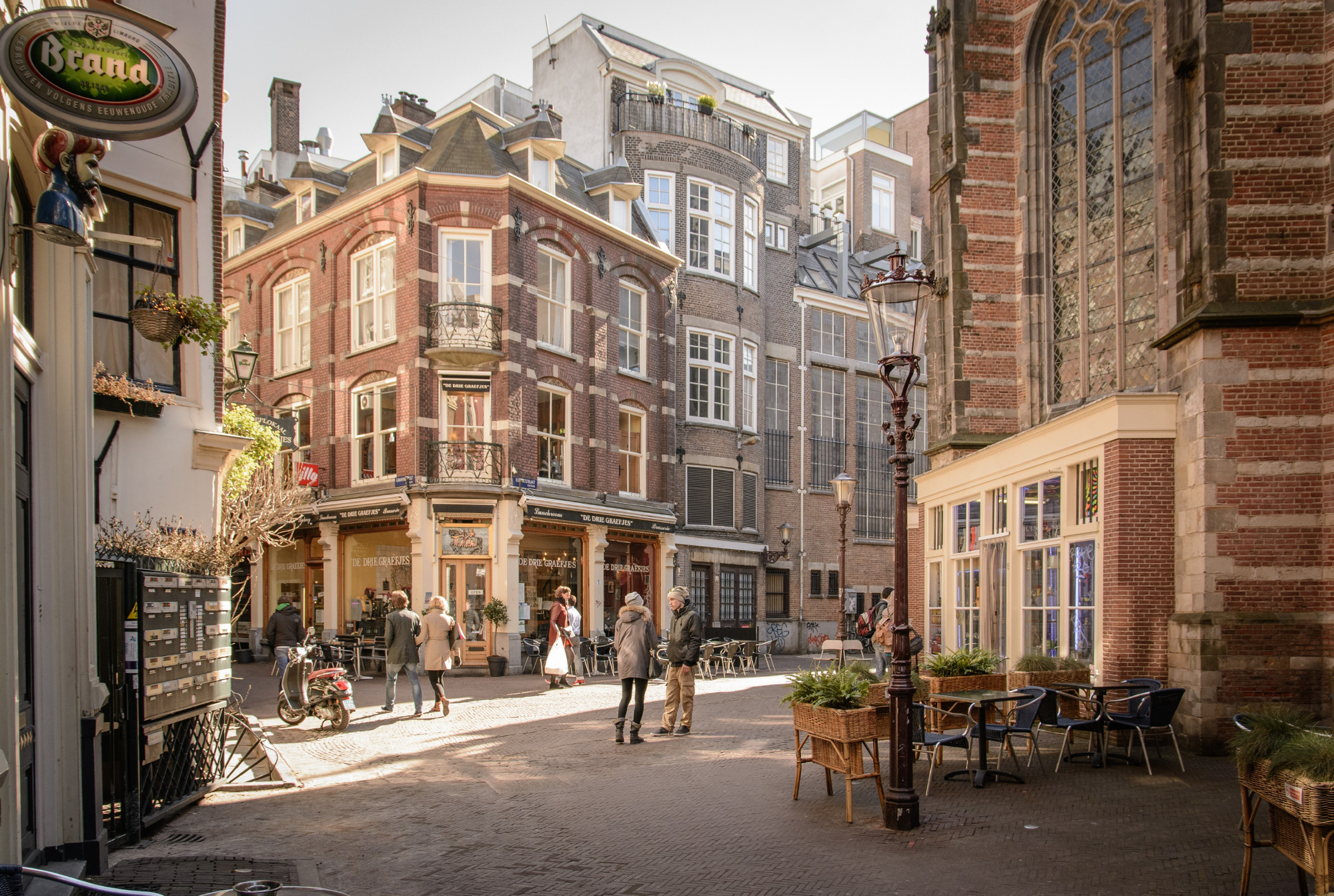 December proved to be the best time to book accommodation in Amsterdam.