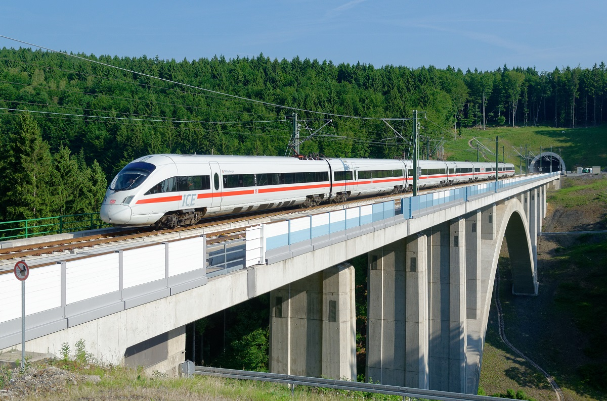 The high speed service will cut travel time between Berlin and Munich by two hours.