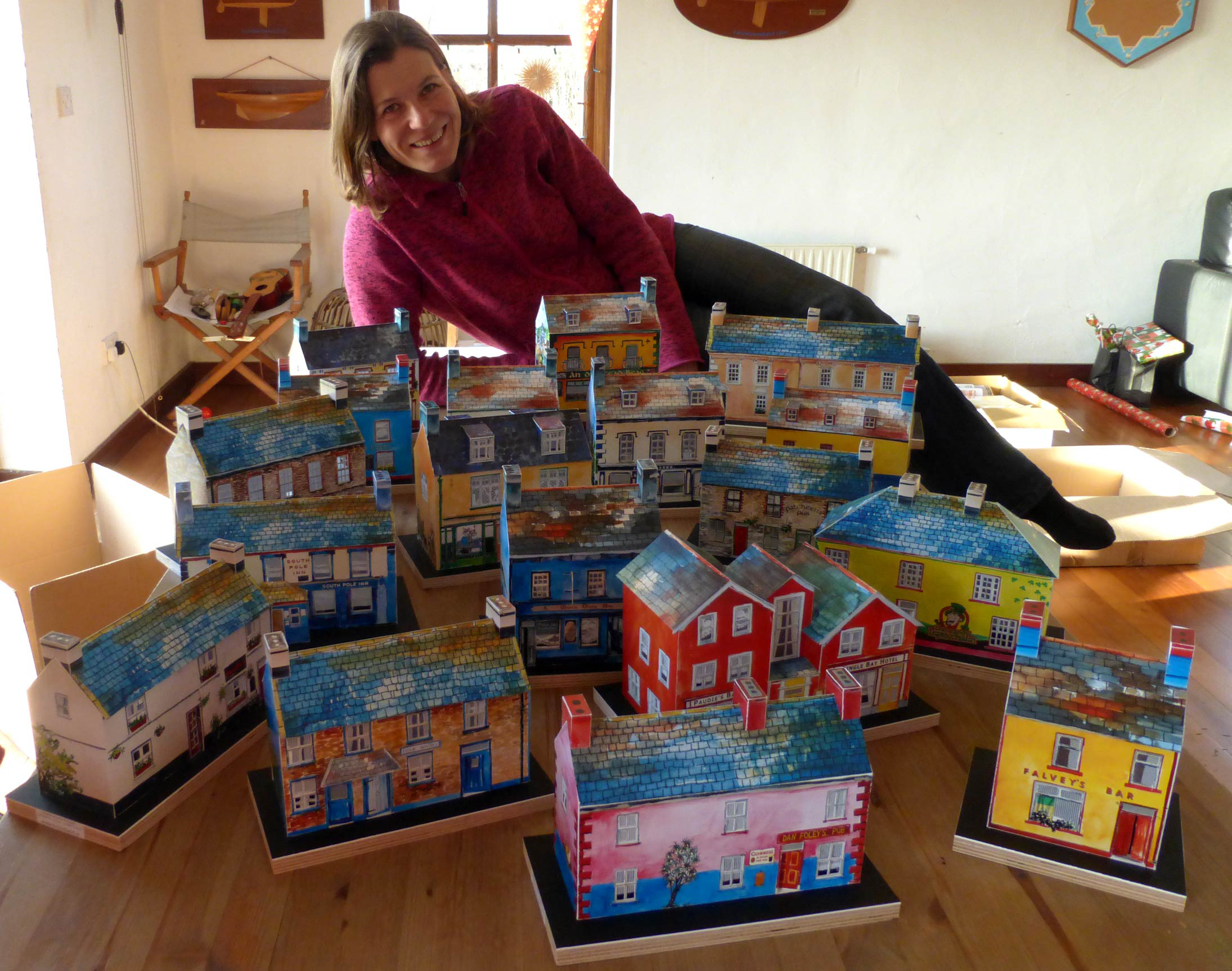 Anke came up with the idea in 2005 when her son was building a model railway set.
