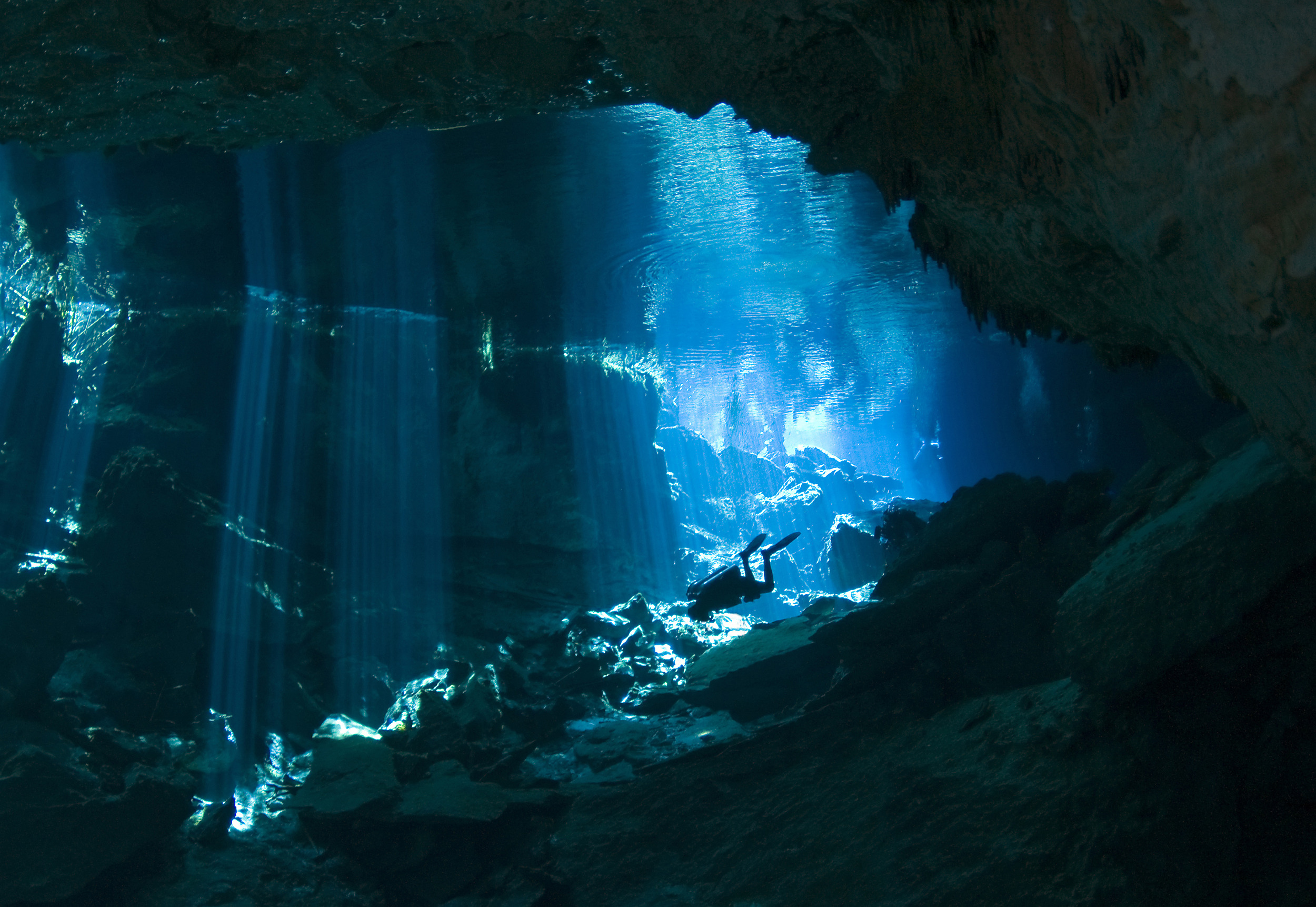 Quintana Roo boasts a number of famous cave systems, including the Chac Mool Cenote in the Riviera Maya.r