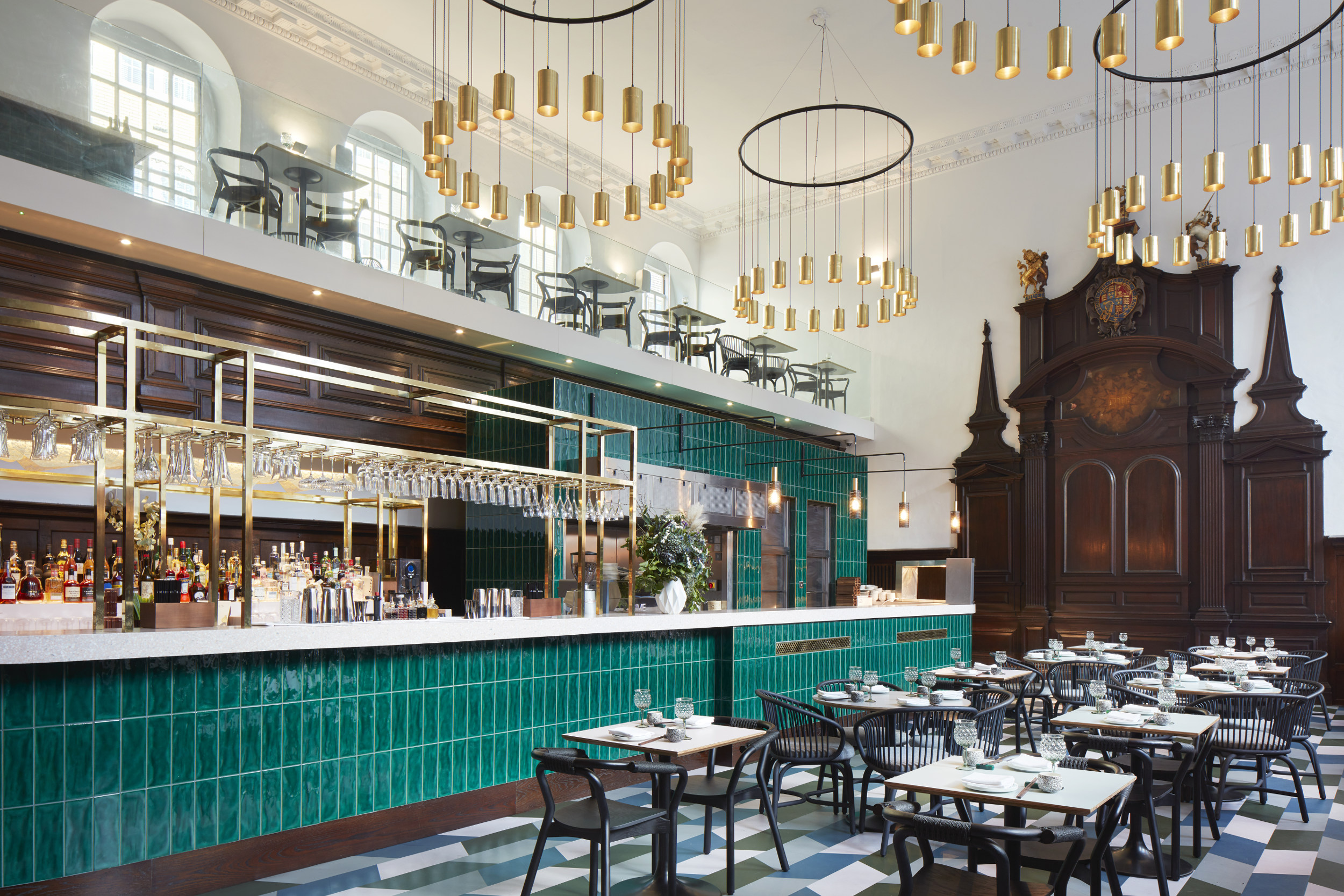 Duddell's London is located inside a Grade II-listed building in Tower Bridge.