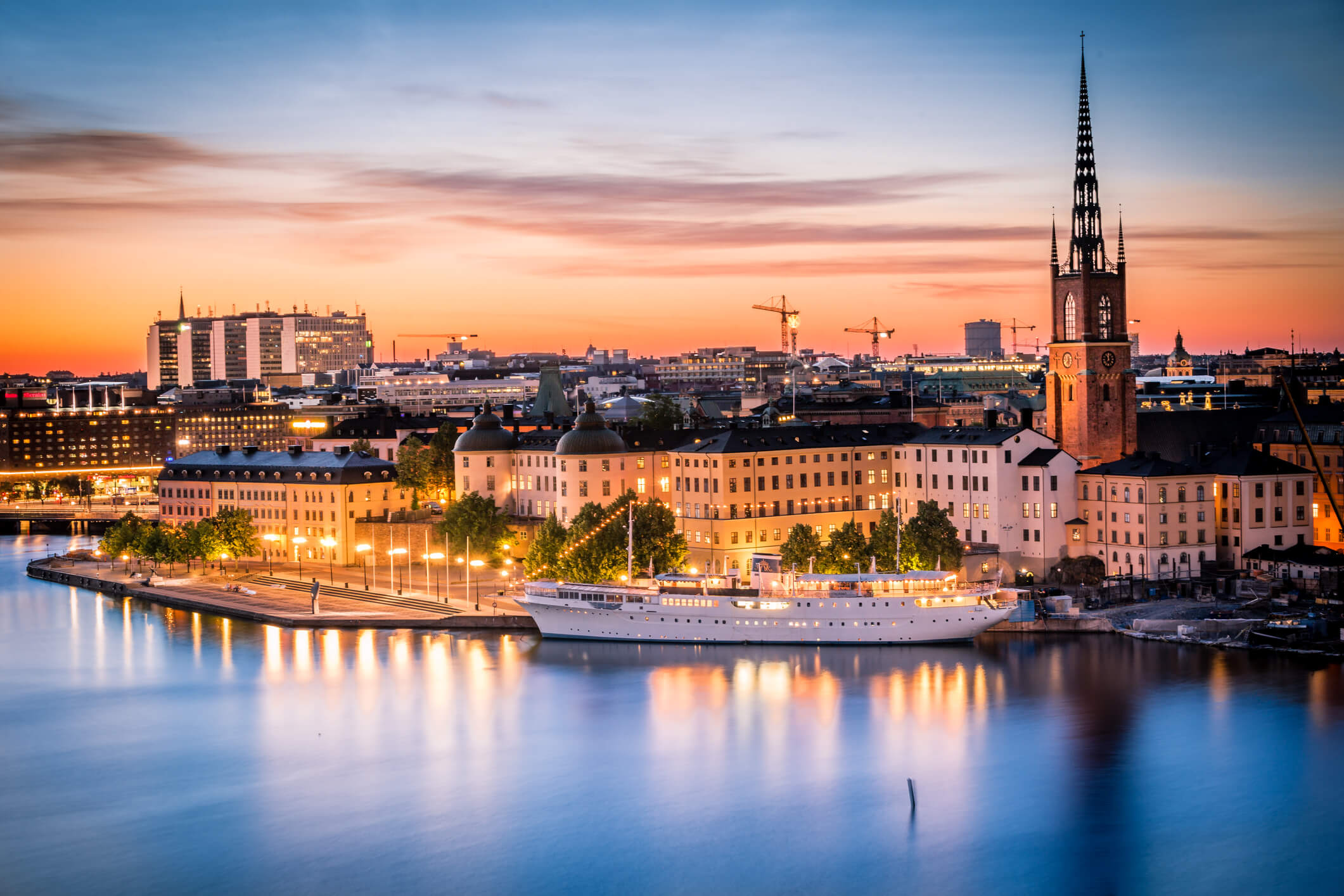 Stockholm-water-front