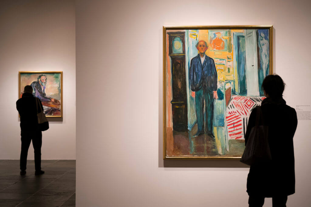 Press Preview Held For Edvard Munch Exhibition At The Met Breuer