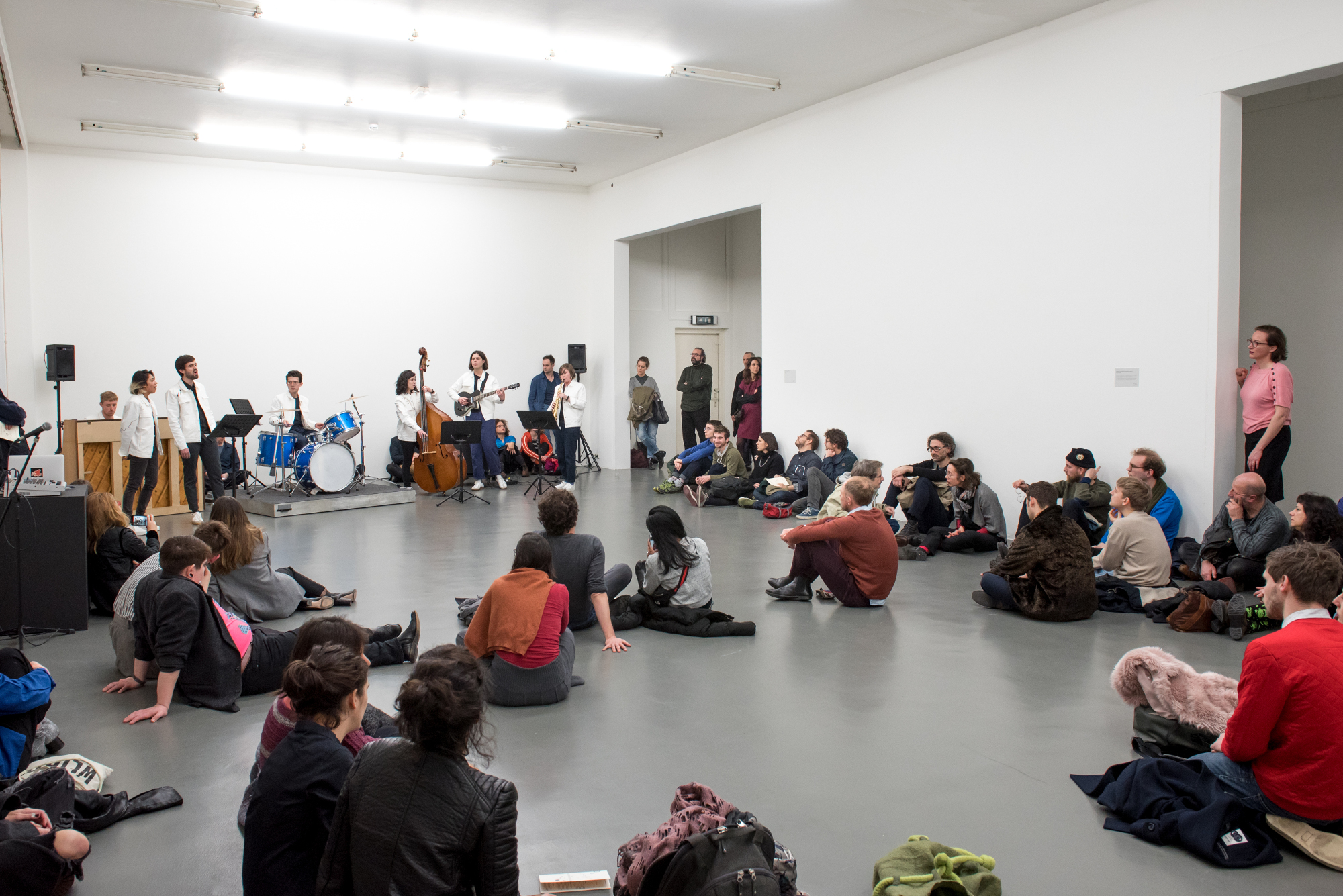 The gallery will host other kinds of activity outside of full performances, such as open rehearsals.
