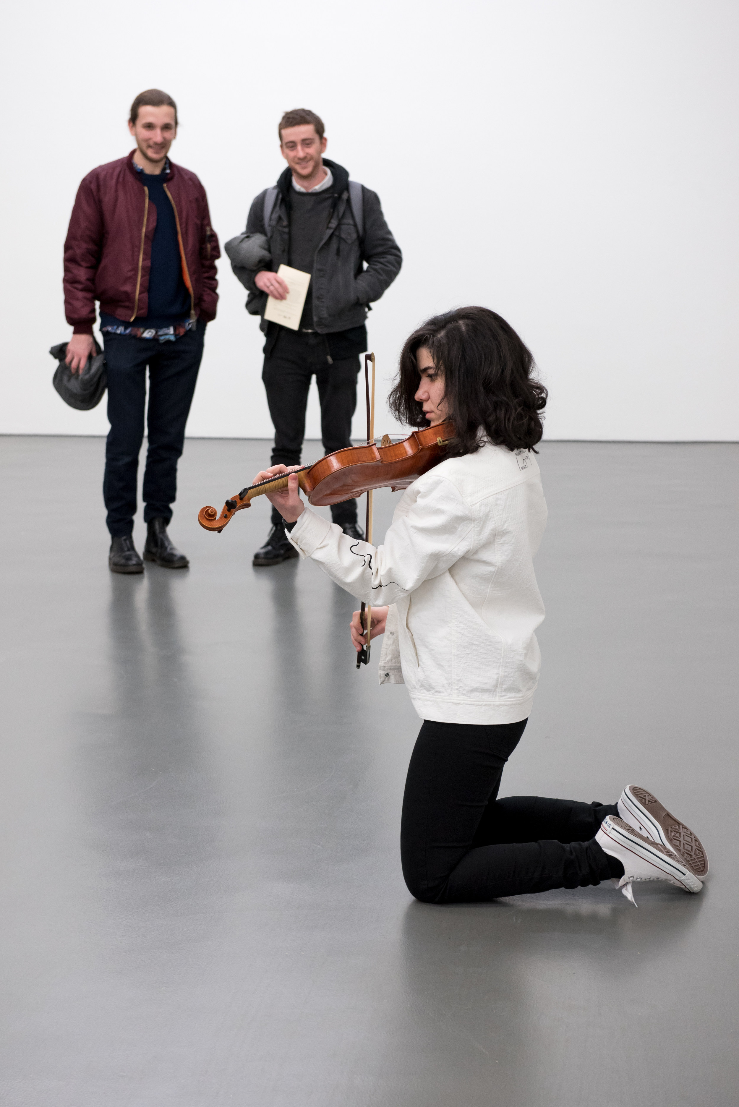 The ensemble sees eight musicians of different experience levels and backgrounds performing specially commissioned works.