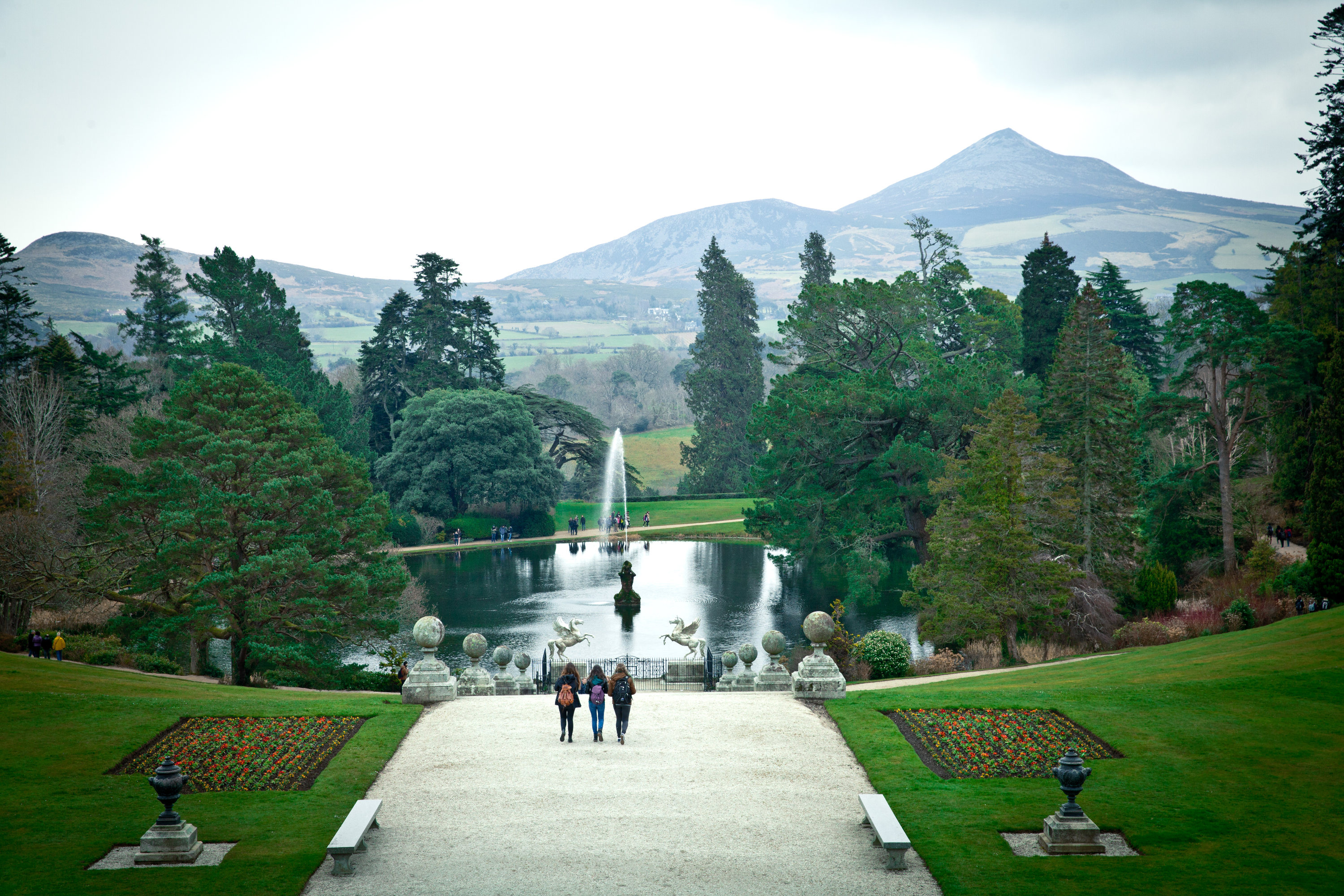 The centre is located at Powerscourt House in County Wicklow, Ireland.