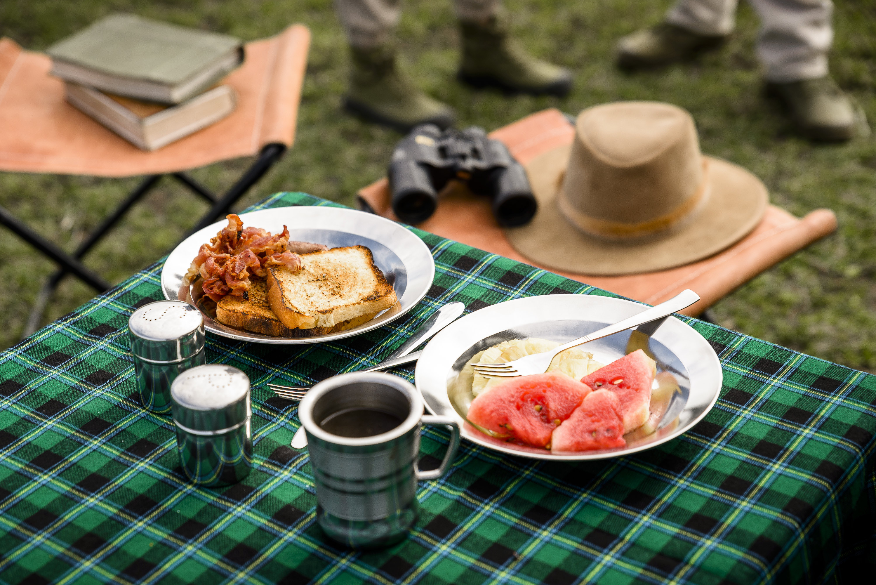 Guests can enjoy breakfast on the Serengeti during the experience.