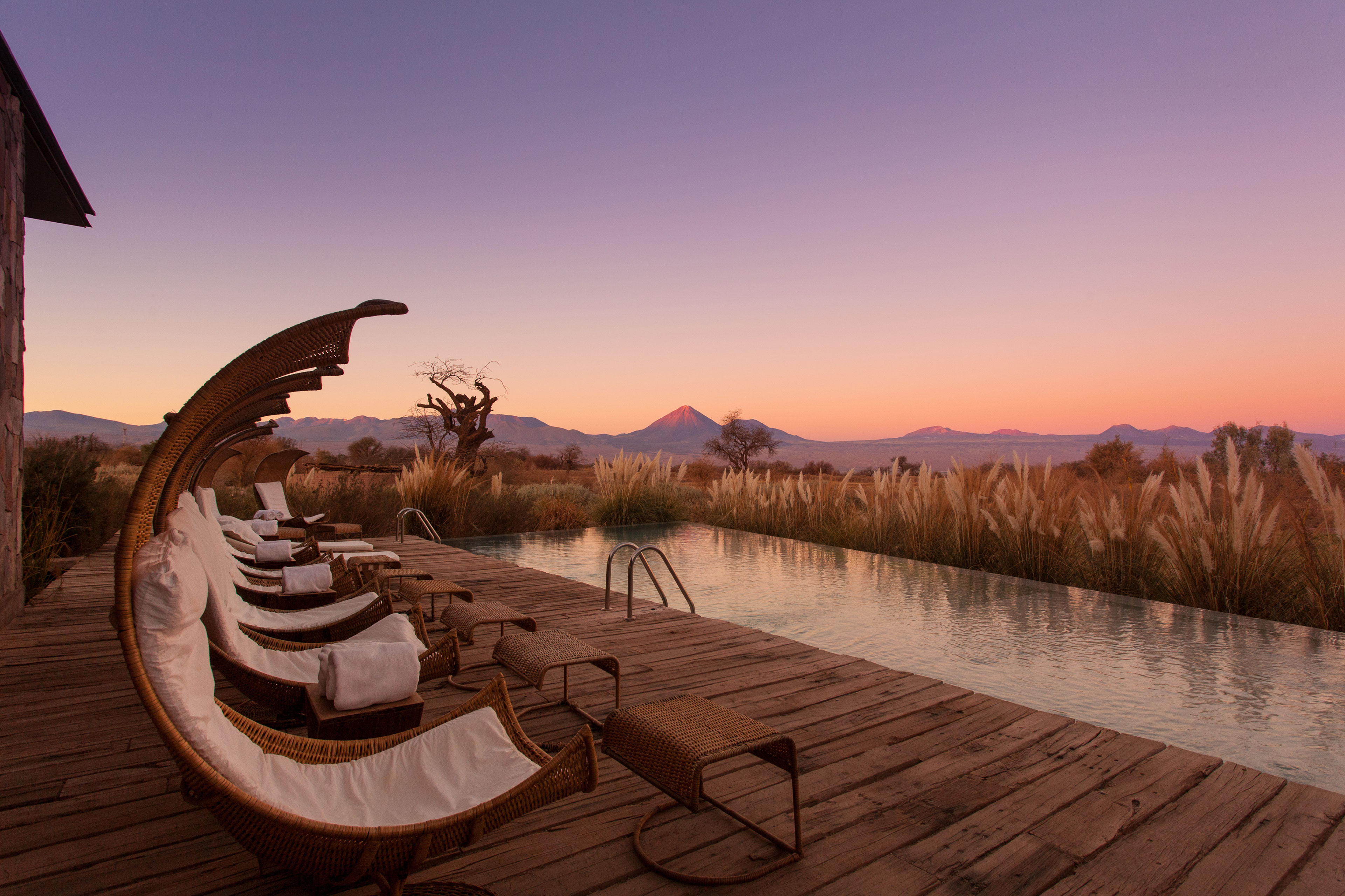 Tierra Atacama Hotel and Spa scooped the prize for Best Pool With a View.