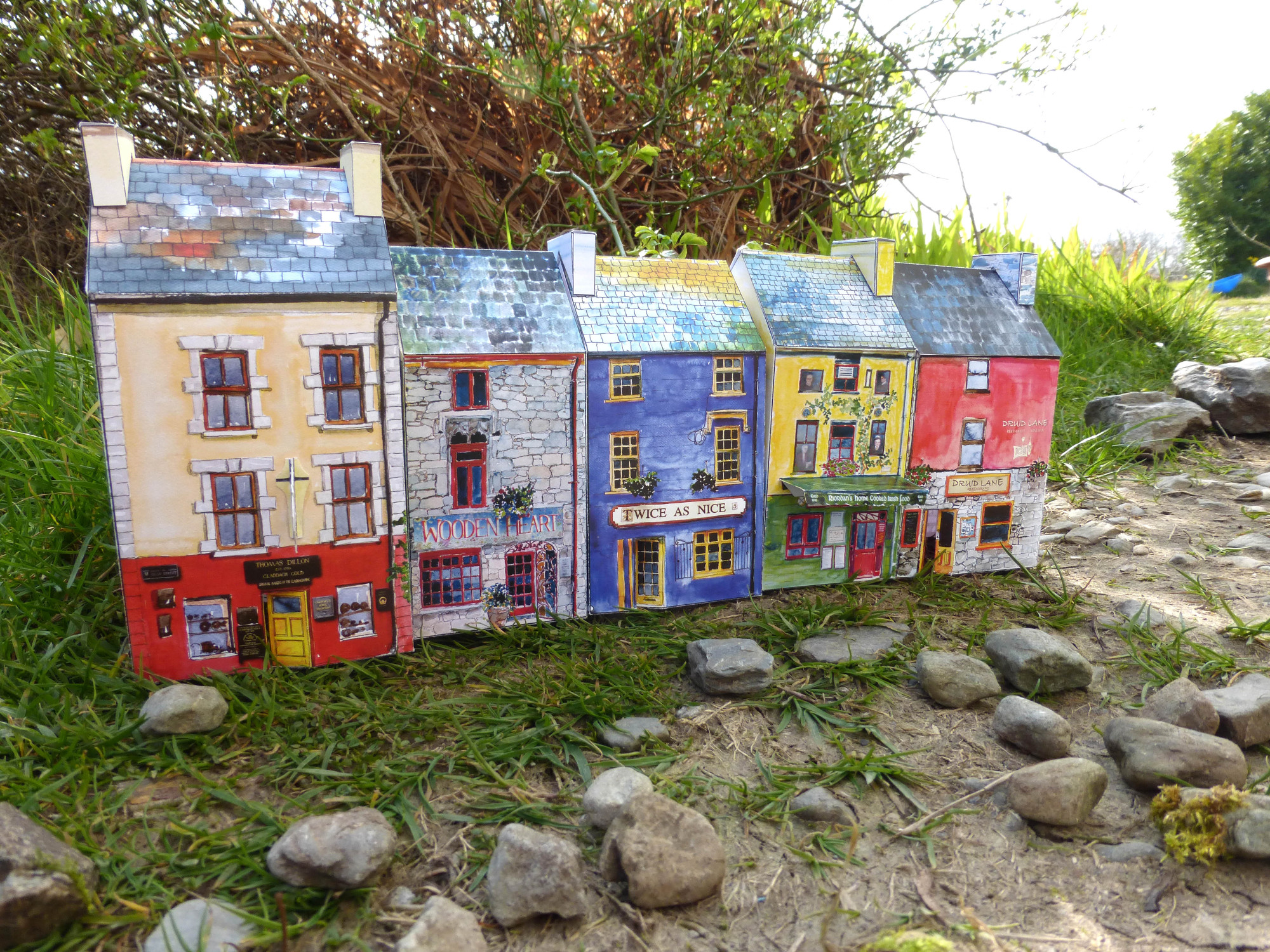 A model kit of Tiny Galway.