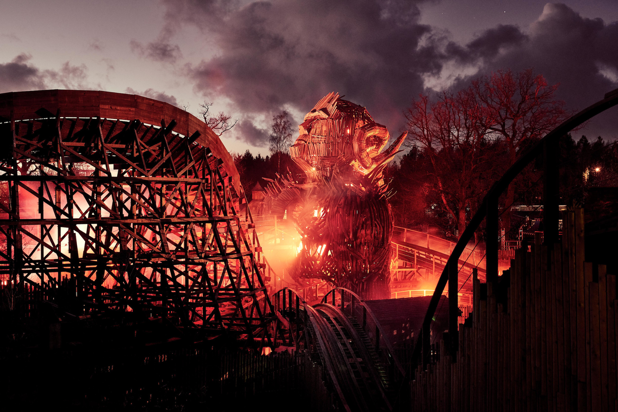 The rollercoaster is due to open this spring.
