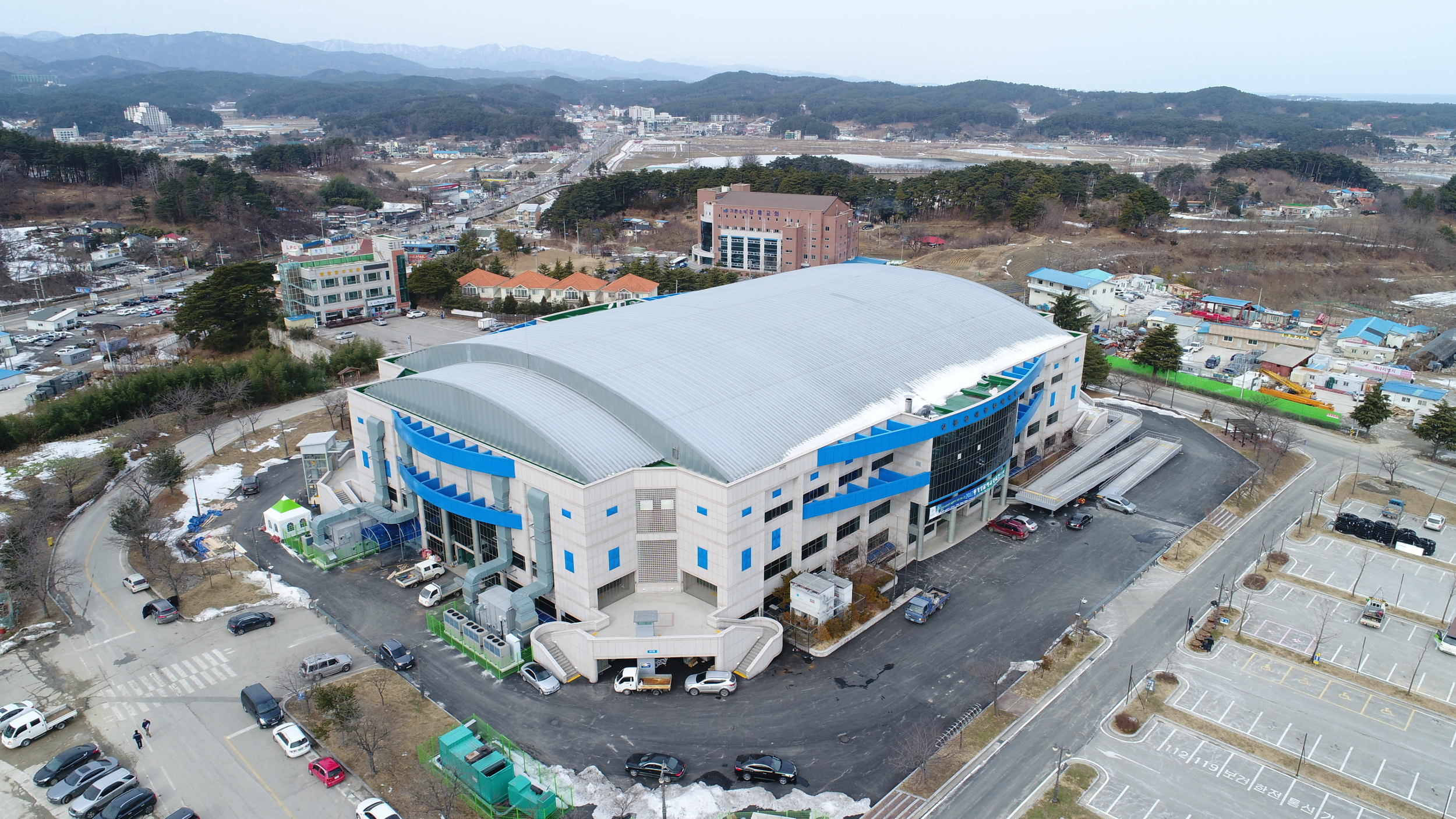 Gangneung Curling Centre.