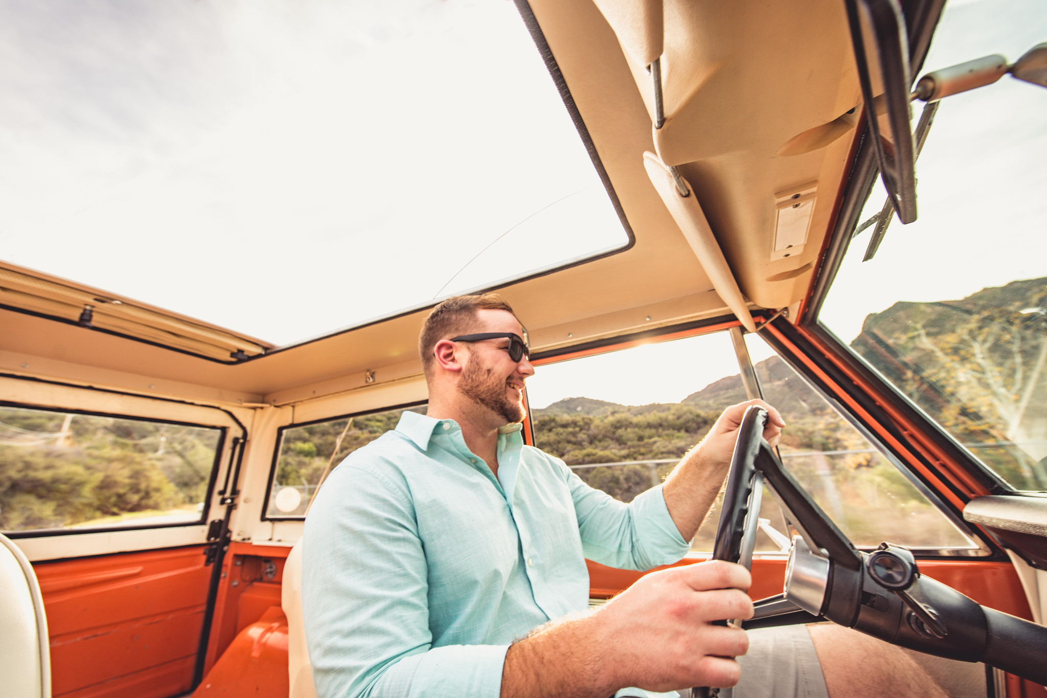 Car owners can list the features of the vehicle, while renters can leave reviews for the renter.