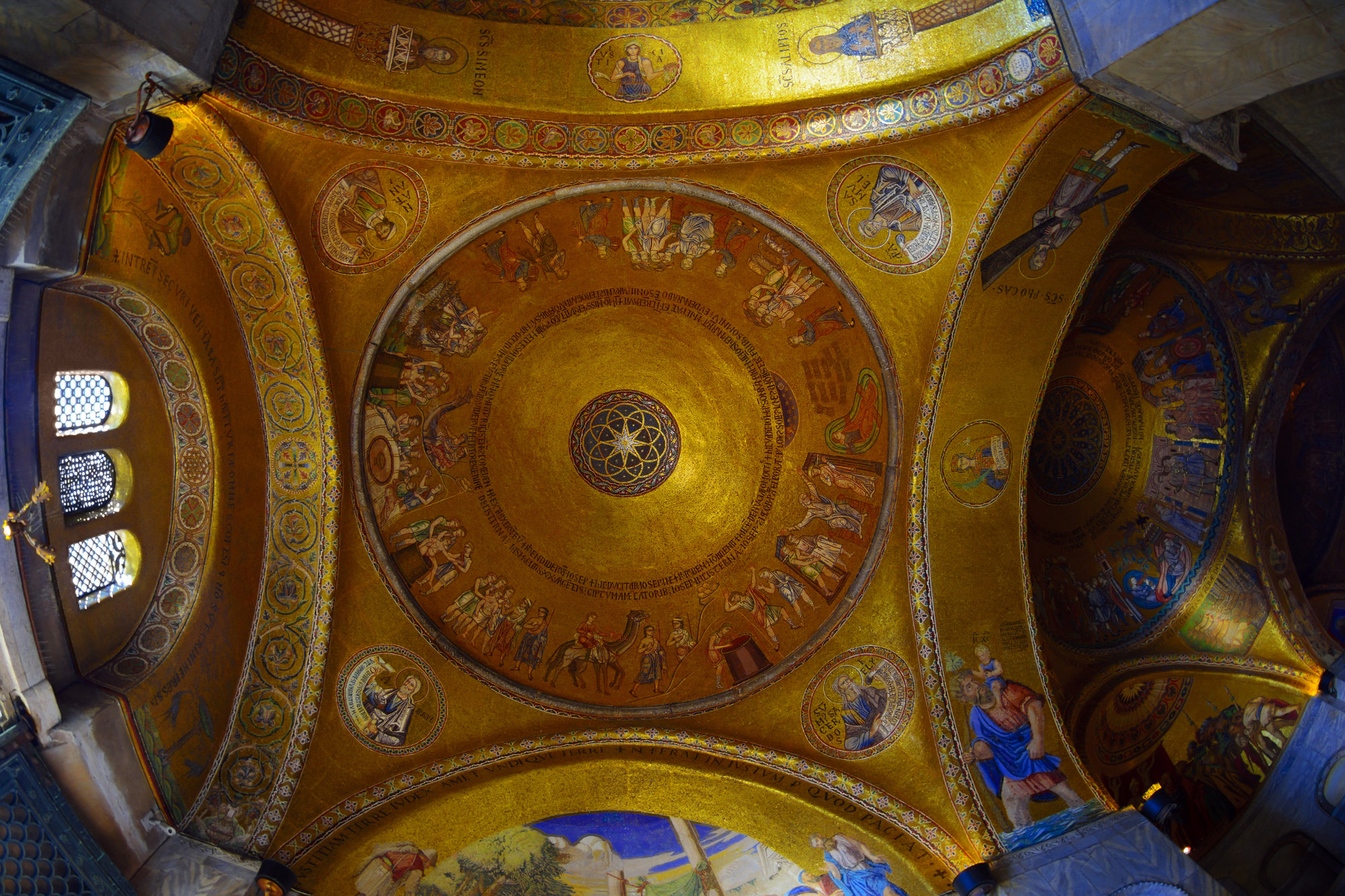 Dome of St Mark's Cathedral