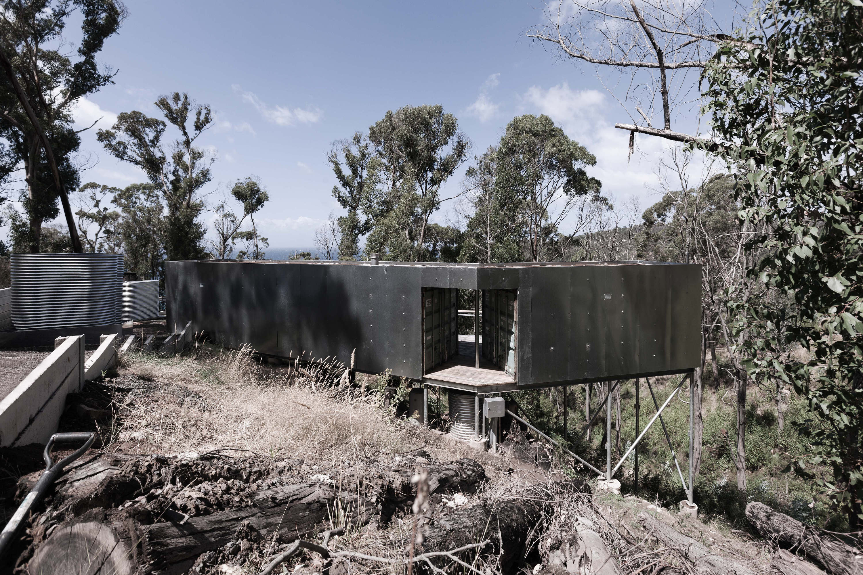 Stay In A Shipping Container Holiday Home Built Into A