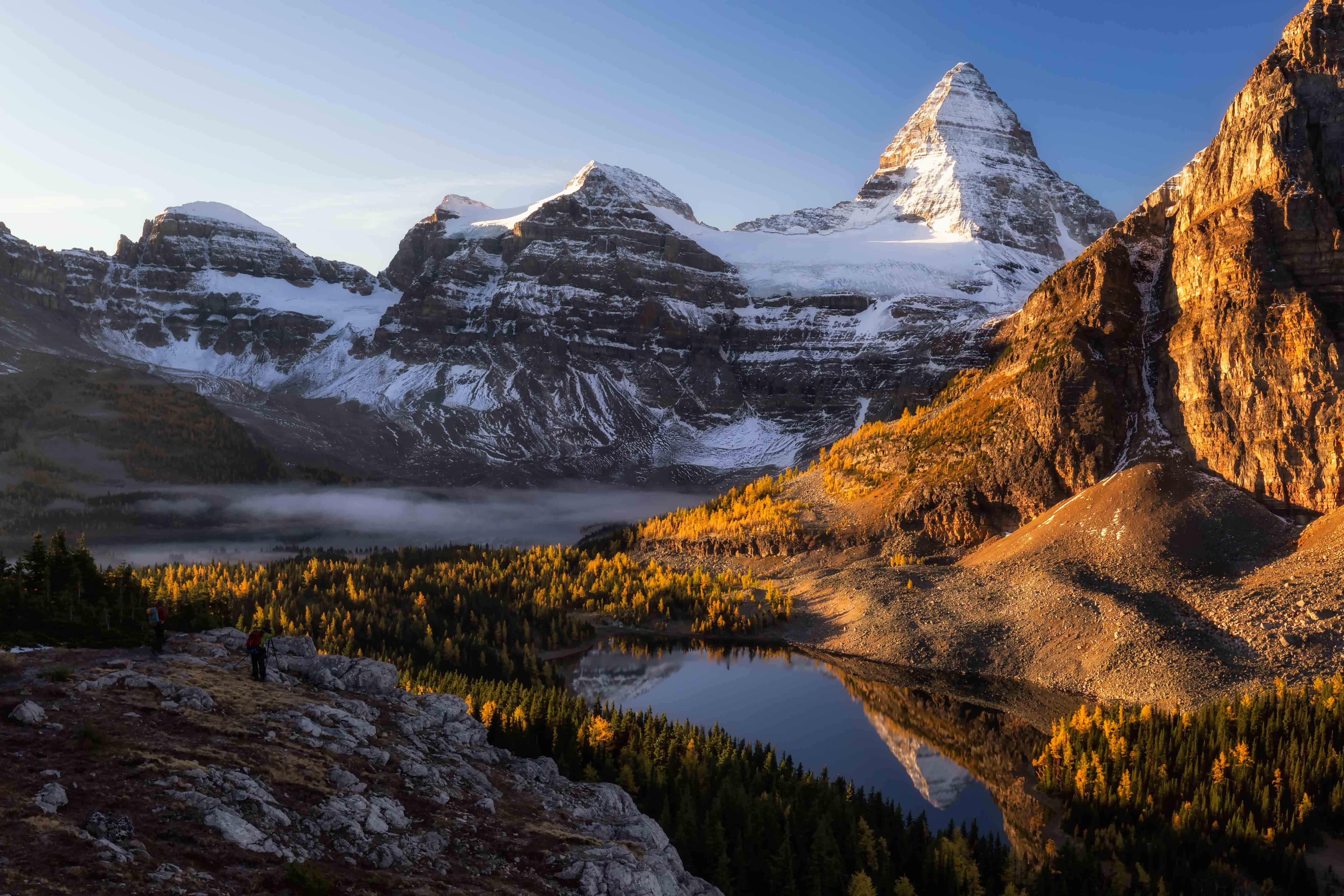 Mount Assiniboine Niblet view