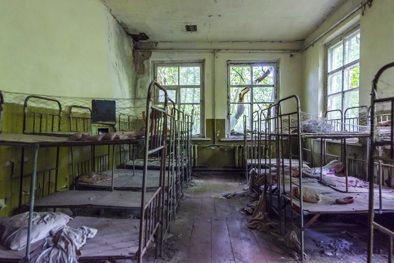 Nuclear Exclusion Zone Chernobyl