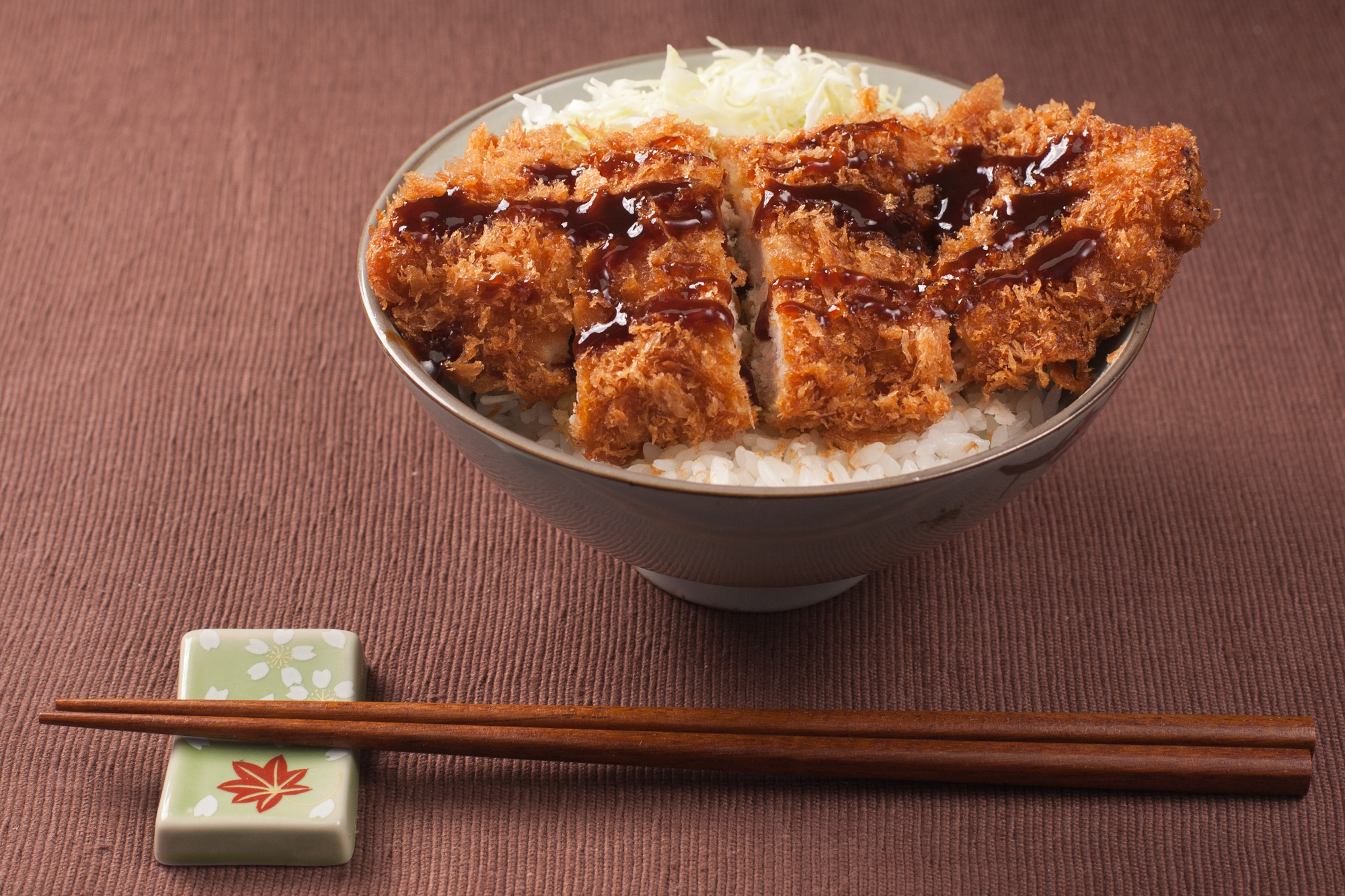 Tonkatsu, a deep friend pork cutlet, is one of Japan's most celebrated dishes.