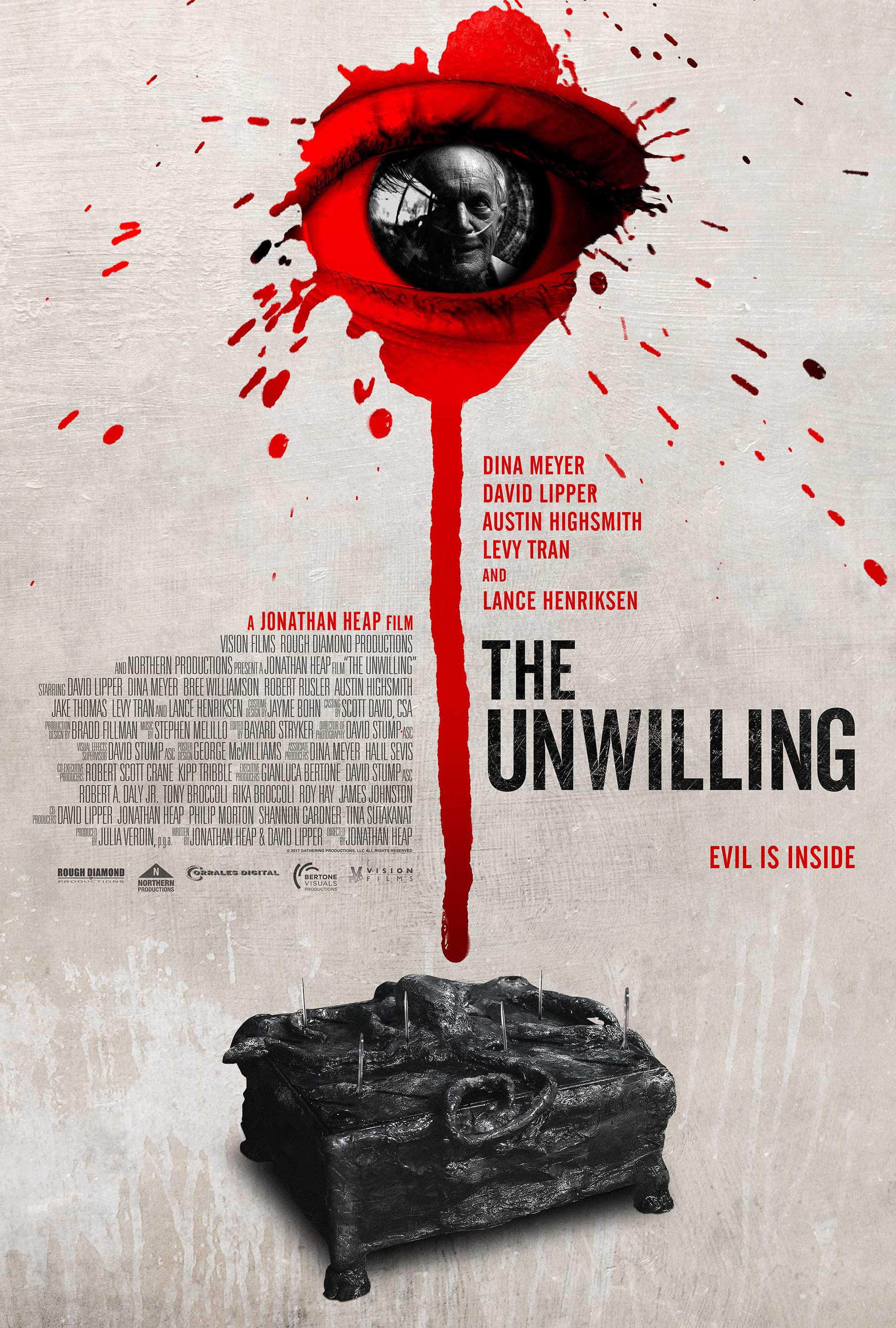 Poster for The Unwilling by Jonathan Heap