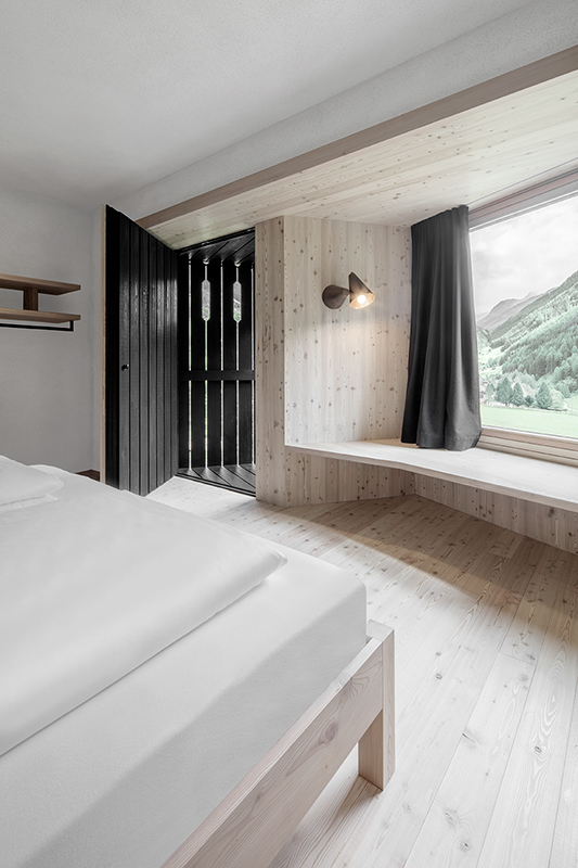 Room with a view in the Tyrol