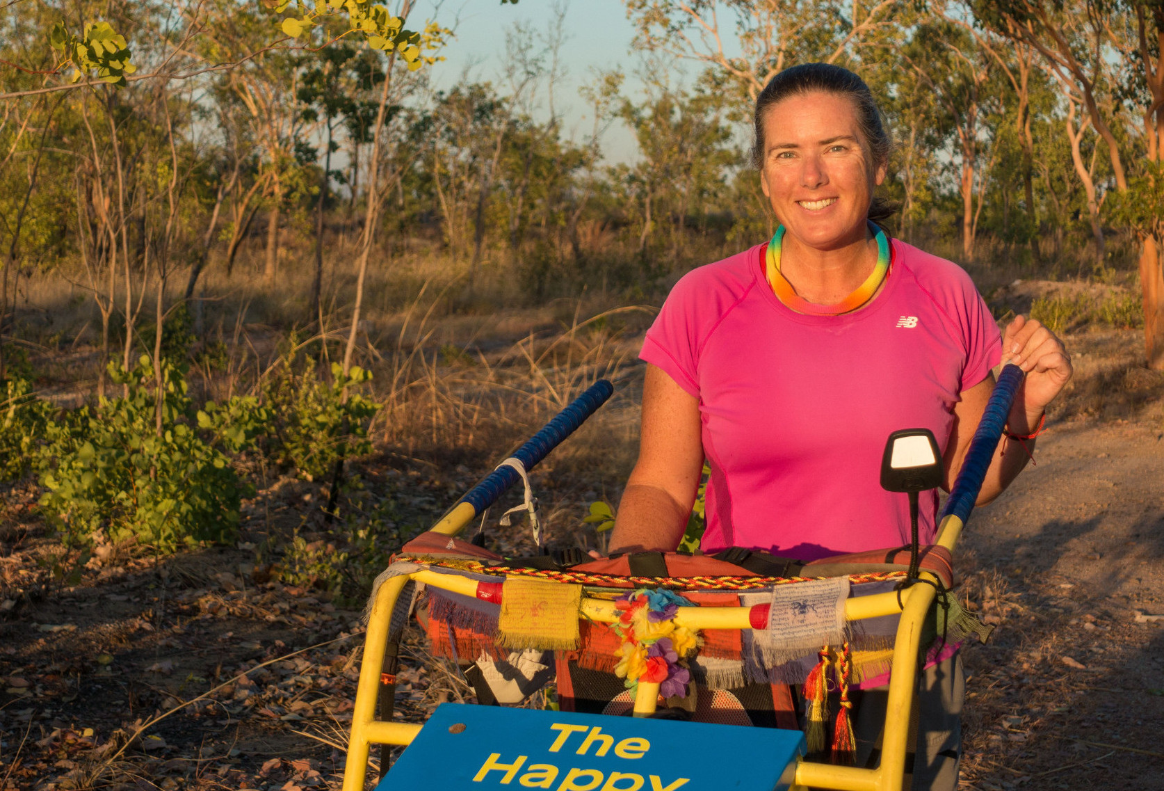 Australian woman on her epic journey