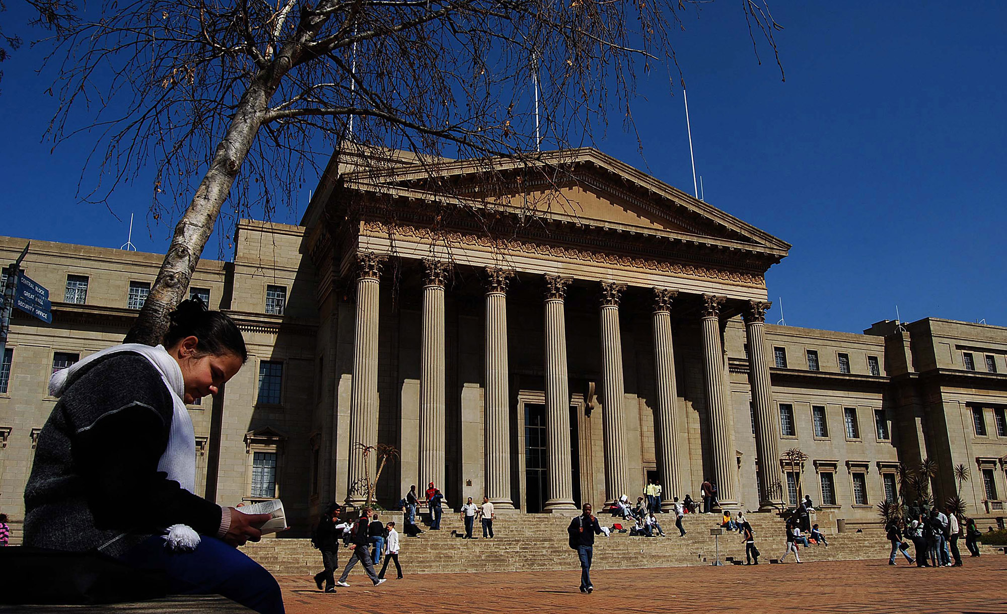 The discovery was made by students at Witwatersrand University