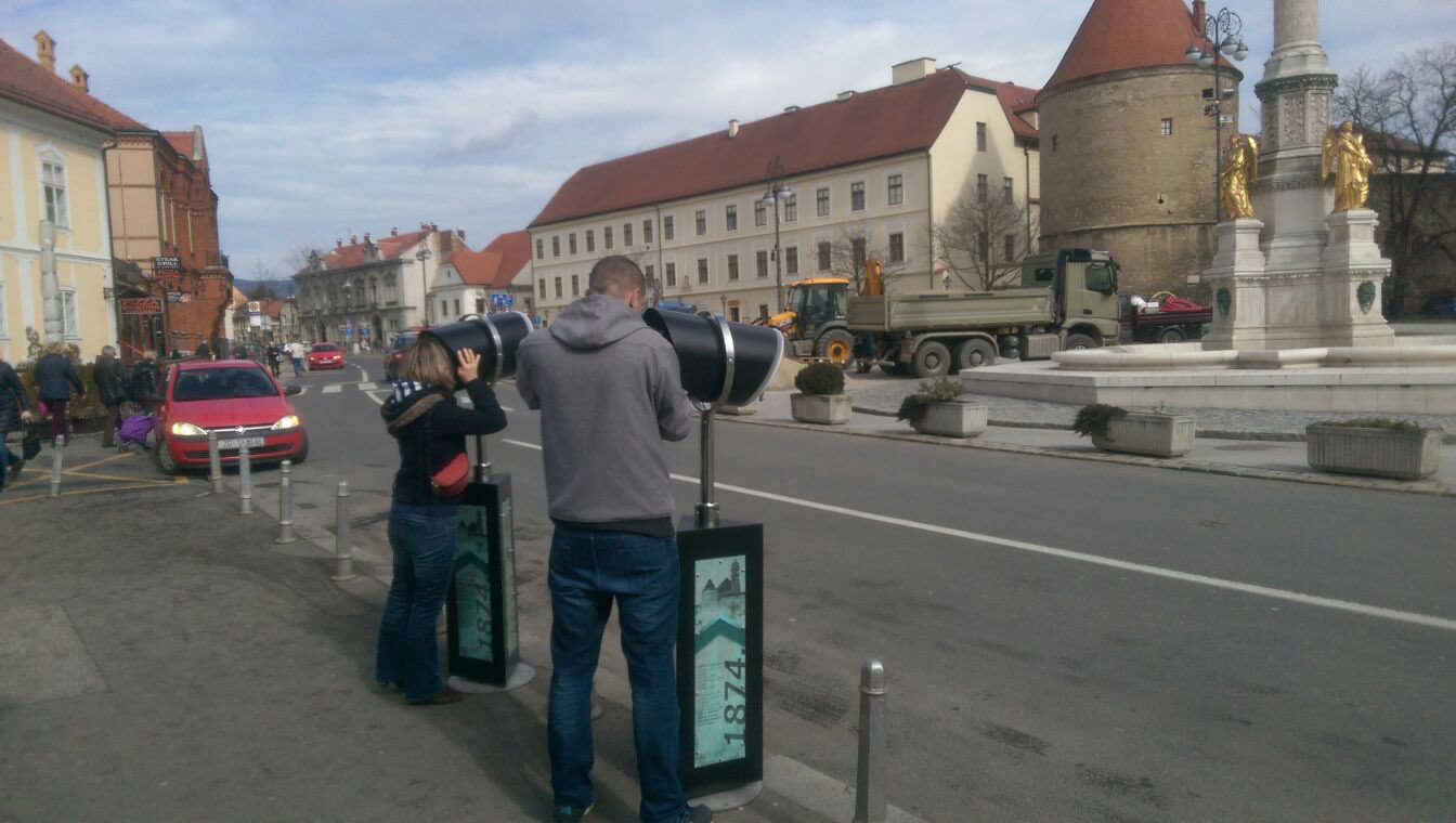 VR Pole users in Zagreb