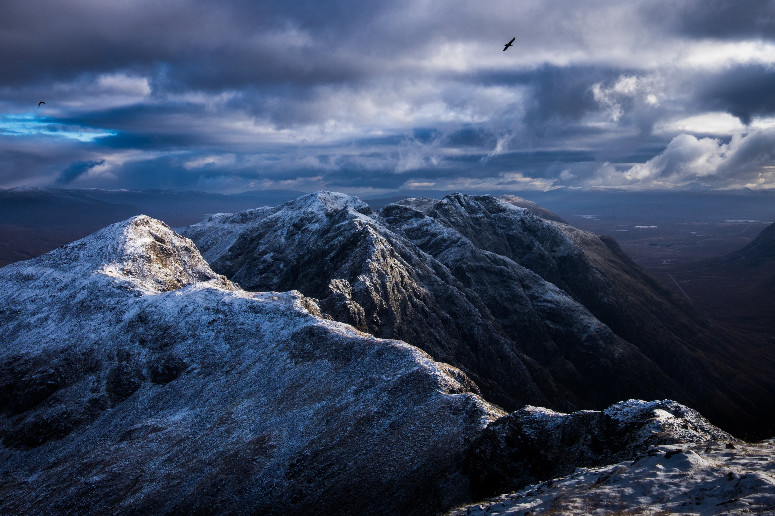 """Dreams and Nightmares"" taken at Aonach Eagach, above Glen Coe in Scotland."