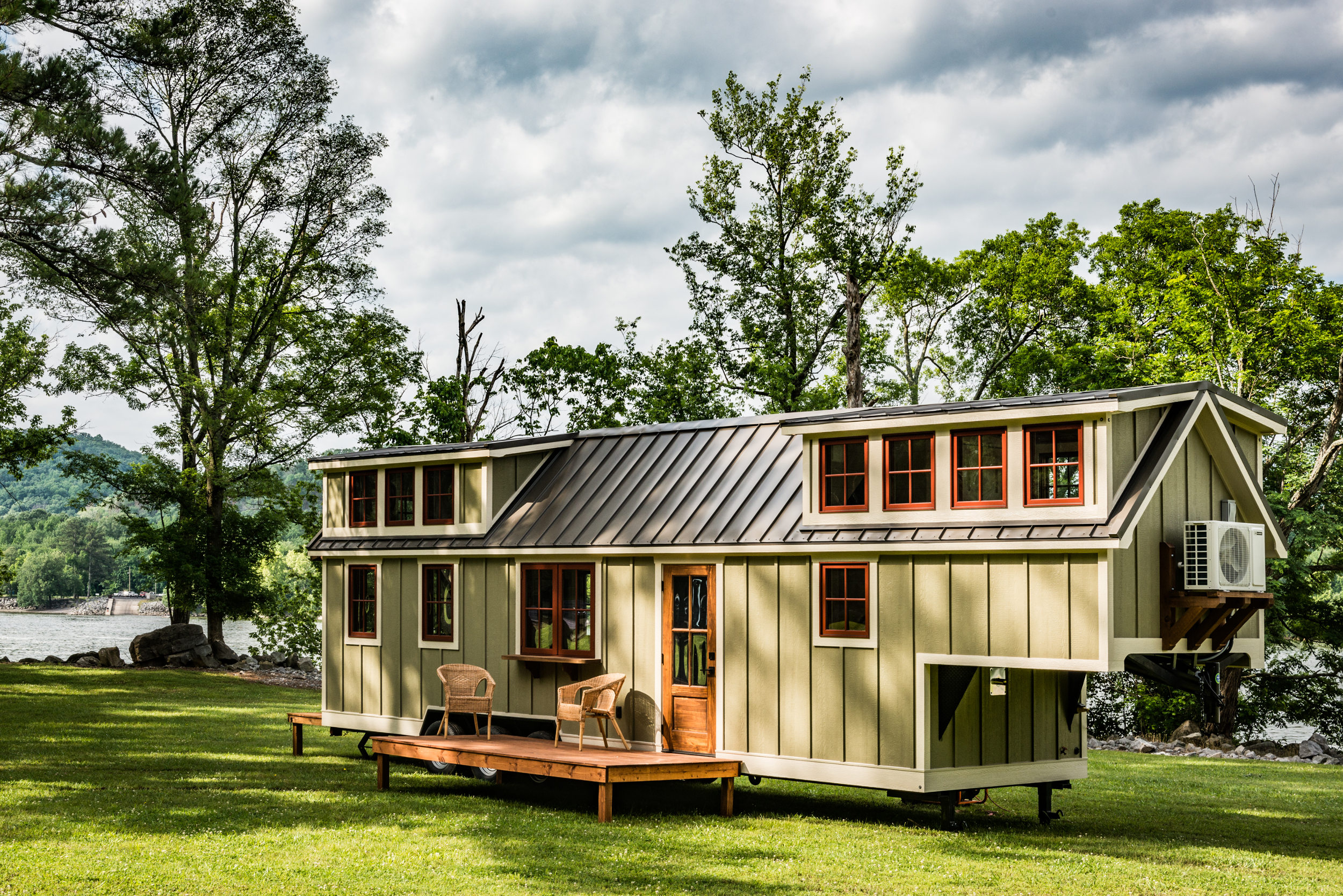 Timbercraft Tiny Homes are hand-crafted in Alabama.