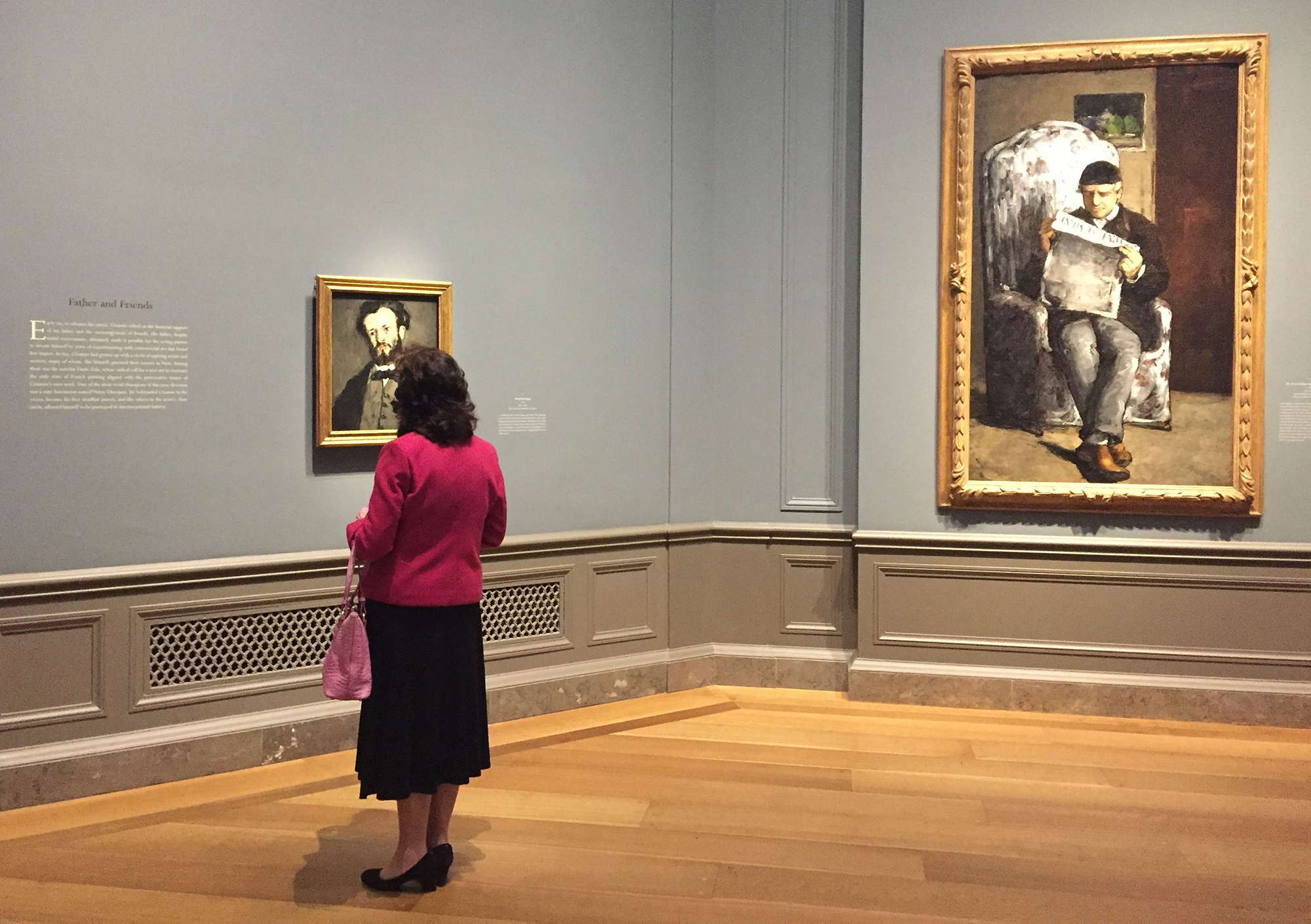Cezanne portrait exhibtion gets underway in Washington, DC