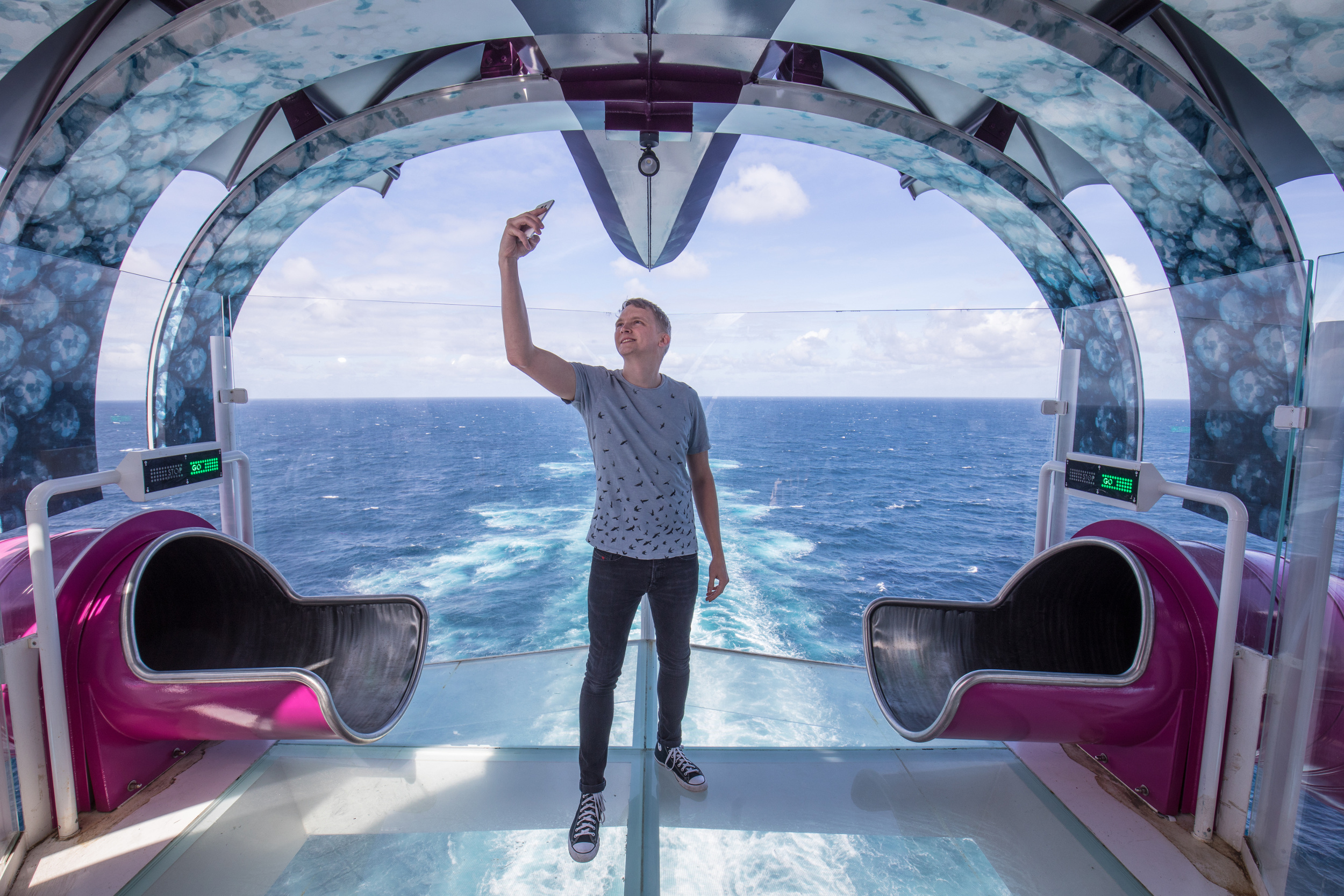 Russ Francis is the Instagrammer-in-Chief for the Symphony of the Seas.