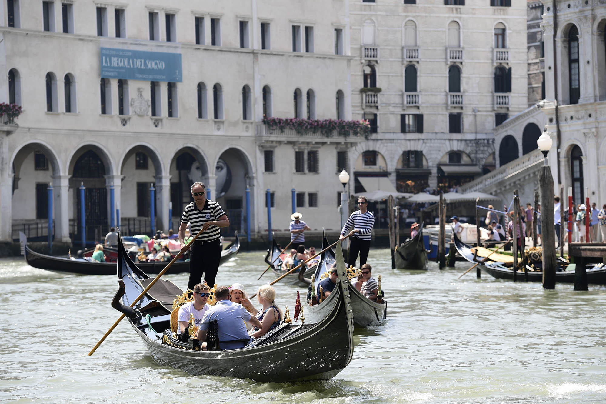 Venice delays visitor charge